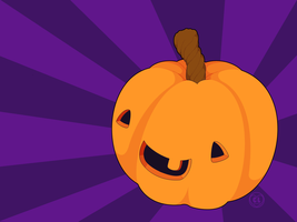 Wallpaper - Pumperkin by firstfear
