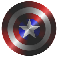 Captain America Modern Shield test 5 by KalEl7