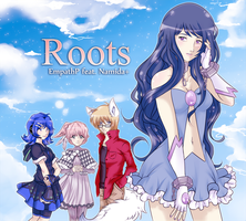 UTAU album cover: Roots feat Namida+ by AkiGlancy