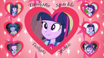 EQG Twilight Sparkle Wallpaper by Sonork91