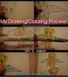 My Drawing Process Video by KikaiSaigono