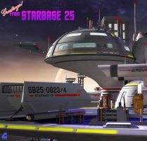 Greetings from Starbase 25 by Rob-Caswell