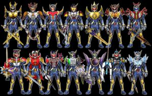 Kamen Rider Gaim: Heisei Arms(Final Form Version) by tuanenam