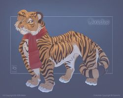 Domino Bathed in Blue by balaa