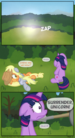 Return to Equestria - Page 21 by moemneop