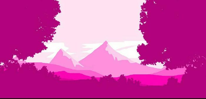 pink nature by Anthony33894