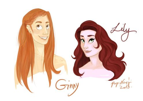 Ginny and Lily by breath-in