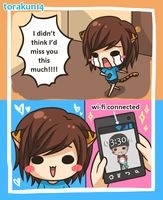 Torakun Comics: I missed you! by torakun14