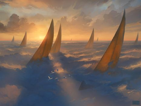 Cloud Regatta by RHADS