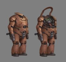 CONCEPT : Heavy Soldier by Ancorgil
