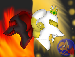 The Flame and the Gold:CE: by crazyfirewolf