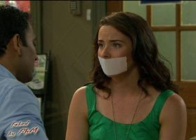Ashleigh Brewer gagged by PhM 001d by PhMBond