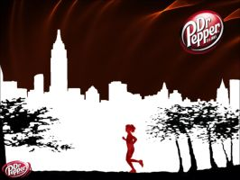 My Dr. Pepper World by SephraWolfe