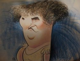 Susan Boyle Caricature by aaronphilby