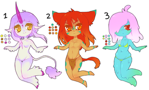 adoptable batch: sold out! by tesazombie