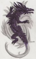 Dragon Of Darkness by NicoRaven