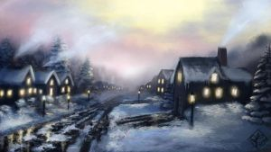 Winter on Springwood by jjpeabody
