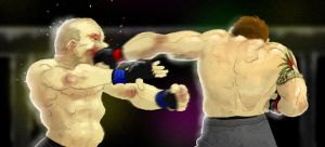Bader vs. Matyushenko by Mleeg-Art