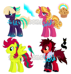 Pony Adoptables 4 BOYS! by Sakuyamon
