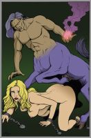 Centaur and chains by DocRedfield