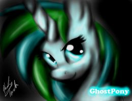 GhostPony Commission by Healing-Touch