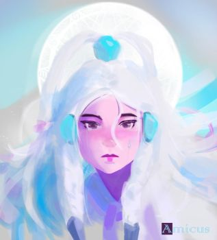 Princess Yue - Paint Over by Amicus-Art
