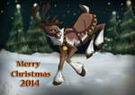 Merry Christmas - 2014 by IrishWolven