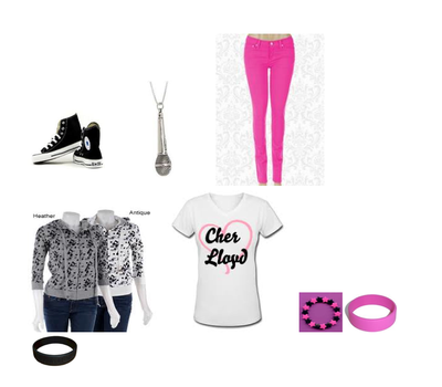 Cher Lloyd outfit!!! by SkullCupcakez