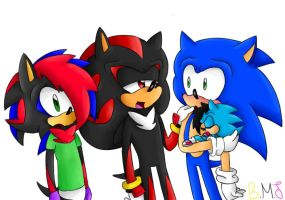 CONTEST REQUEST 1.1 - Sonadow Family by BUTTERMAYOJAMZ