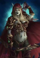 Sylvanas Windrunner by Mikesw1234
