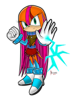 Scars the Echidna SA Style (2013) by Xssys