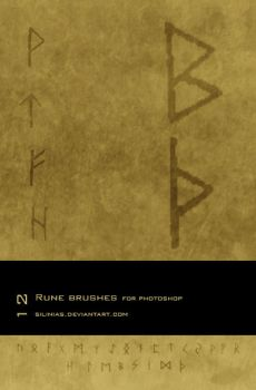 Rune Brushes PS by silinias