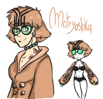 Matryoshka by Mat-el-Tea