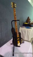 Bass Guitar Cake 1 by cake-engineering