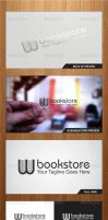 W Bookstore Logo Template - Graphicriver by Changyik