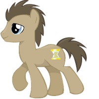 Doctor Whooves Vector by Missy12113