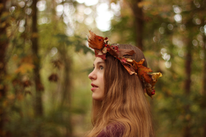 Crown of Leaves by Mermaidfairytale