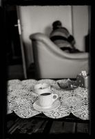 Coffee and cigarettes...and pills by Dionisic