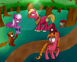 The best apple family by Segraece