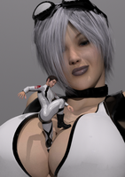 Ivory Giantess 4 by Boomgts
