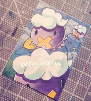 Drifloon (trading card Tuesday)  by PenguinEsk
