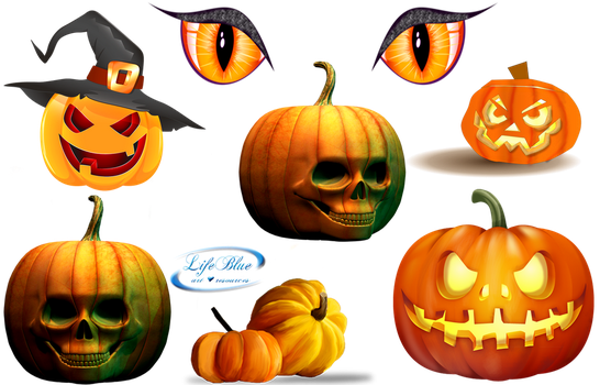 Halloween 2 - PNG by lifeblue