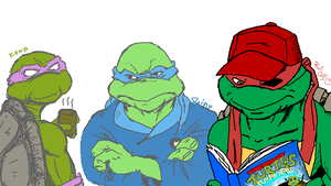 TMNT p-chat Future Tense by theblindalley