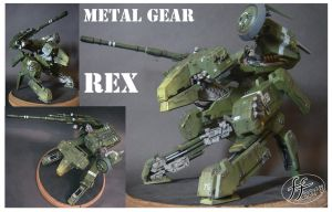 Metal gear REX by 14-bis