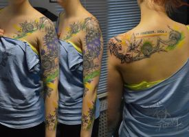 Tattoo sleeve by ABYSS-TAT-2S