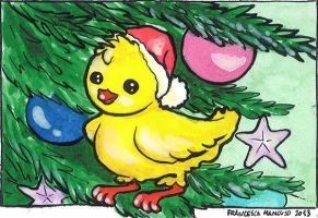 Xmas canary by dreamsaddict