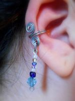 DIY Wire Ear Cuff by RubyReminiscence
