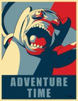 Adventure Time Propaganda by DKYingst