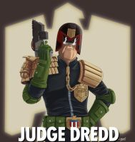 Judge Dredd Profile by Spring-O