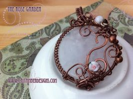 The Rose Garden Pendant by tanyquil
